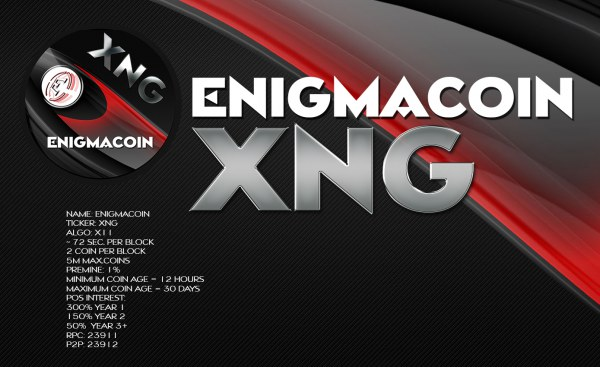 Enigma coin (XNG)