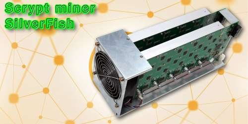 ASIC SilverFish (scrypt, 24-28 MH/s)